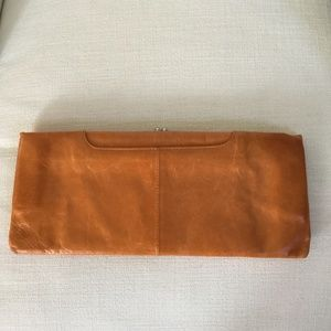 Hobo leather clutch